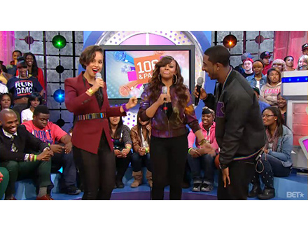 Alicia Keys on 106 and Park