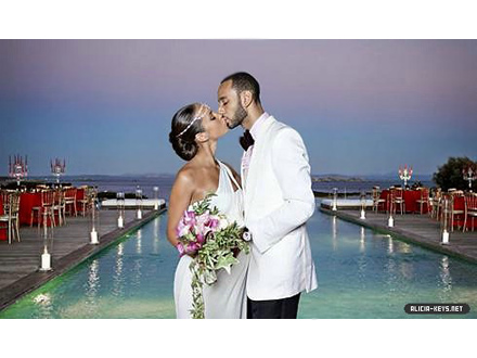 Alicia Keys and Swizz Beatz: You may kiss the bride