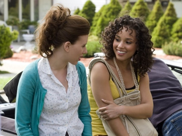 Alicia Keys and Scarlett Johansson - The Nanny Diaries