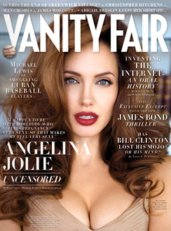 Angelina Jolie Vanity Fair cover July 2008