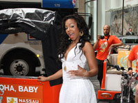 Ashanti at The Island Next Door event in NYC