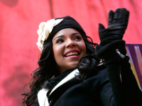 Ashanti at the 2008 Macy's Thanksgiving Day Parade