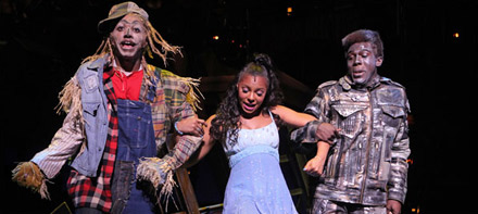 Ashanti on stage in the 2009 revival of The Wiz