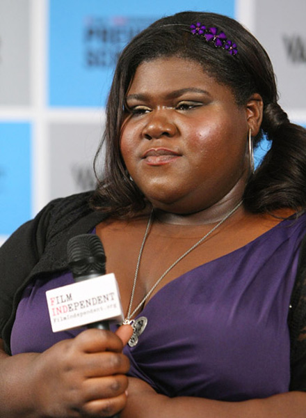 Gabourey Gabby Sidibe, Precious screening at Pacific Design Center