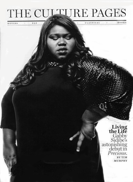 Gabourey Gabby Sidibe in New York Magazine - October 2009