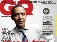 Barack Obama on the cover of French GQ