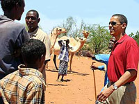 Barack Obama in Kenya