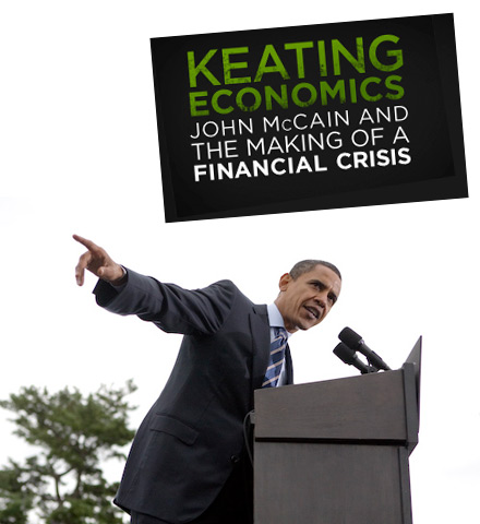 Barack Obama on Keating Economics