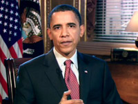 Barack Obama in White House, Weekly Address - Dec 5