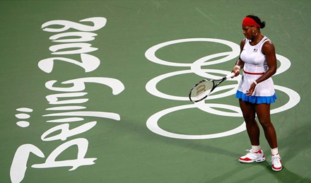 Beijing Olympics - Serena Williams
