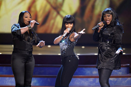 SWV and Alica Keys perform at The 2008 Bet Awards