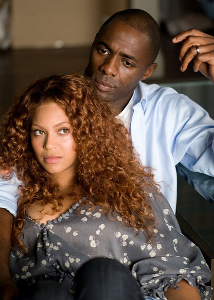 Beyonce and Idris Elba pondering Obsessed