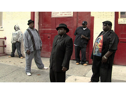Notorious B.I.G. auditions in New York
