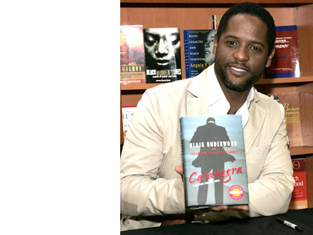 Blair Underwood - Casanegra - Hue-man book