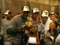 The Big Three - Boston Celtics 2008 NBA Champions
