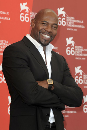 Antonie Fuqua at Brooklyn's Finest screening at Venice Film Festival