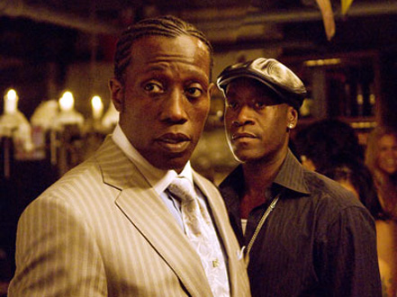 Wesley Snipes and Don Cheadle in Brooklyn's Finest