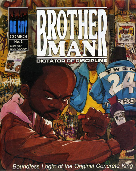 Brother Man comic book - issue number 3
