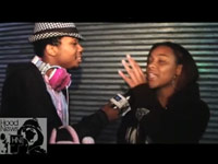 Charles Hamilton punched in the face by a girl