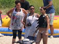 Chirs Brown and Rihanna Jet Ski in Ocean City