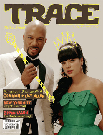 Common and Lilly Allen - Trace Magazine