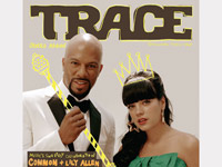 Common and Lily Allen - Trace Magazine