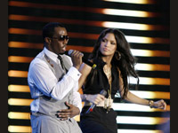 Diddy and Cassie doin it up
