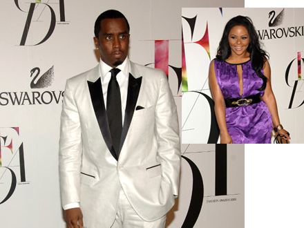 Diddy and Lil Kim at the 2008 CFDA Awards