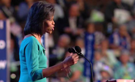Democratic National Convention Day One - Michelle Obama