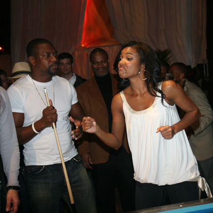Gabrielle Union and Chris Tucker