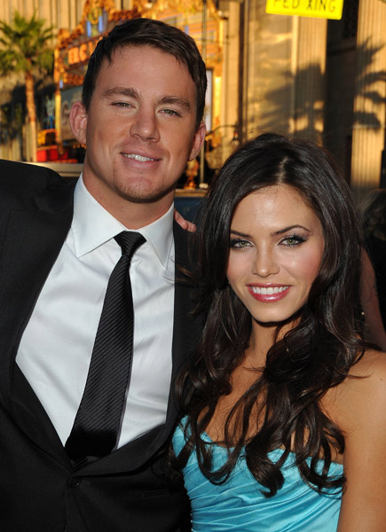 Channing Tatum and Jenna Dewan at G.I. Joe premiere in Los Angeles