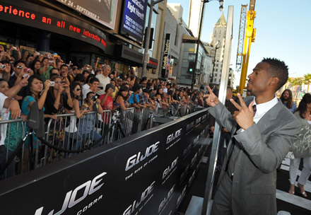 Marlon Wayans at G.I. Joe premiere in Los Angeles