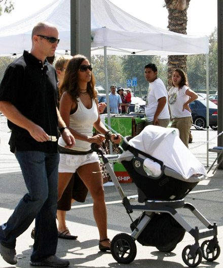 Halle Berry, Nahla Aubry strolling the streets