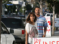 Halle Berry going into Ketchup in West Hollywood