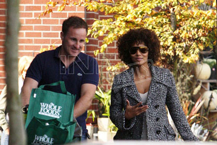 Halle Berry at Whole Foods