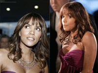 Halle Berry times two