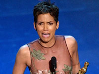 Halle Berry wins the Oscar for Best Actress