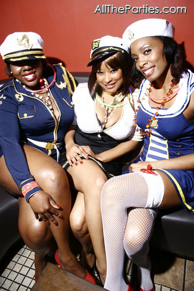 Halloween at Brooklyn's NY Perks - Sexy female sailors XXX