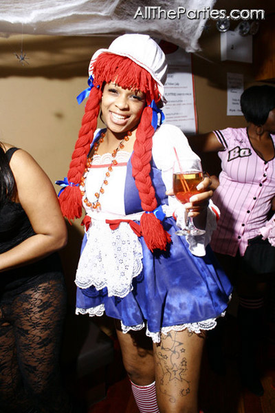 Halloween at Brooklyn's NY Perks - Raggedy Ann