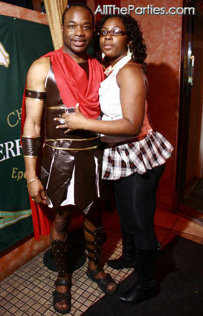 Halloween at Brooklyn's NY Perks - Gladiator