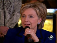 Hillary Clinton Gets All Teary Eyed
