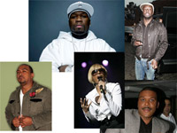 50 Cent, Timbaland, Mary J Blige, Wyclef, Tyler Perry steroid allegations