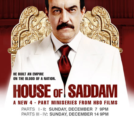 Saddam Hussein - The House of Saddam poster