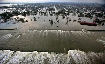 Hurricane Katrina aftermath - New Orleans coast