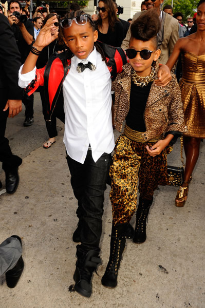 willow smith and jaden smith. Jaden and Willow Smith get