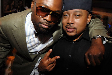 Jamie Foxx 40th Birthday  - Daymond John