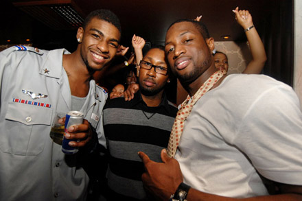 Jamie Foxx 40th Birthday  - Dwayne Wade