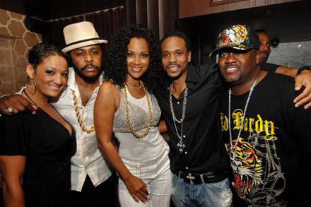 Jamie Foxx 40th Birthday  - Lisa Raye