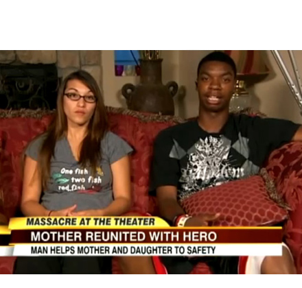 Patricia Legarreta and Jarell Brooks, sit down for interview with ABC news