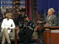 Jay-Z, Mary J, Blige on the David Letterman show